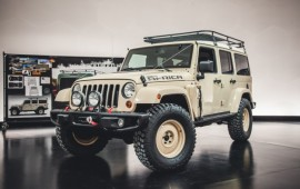 Jeep Wrangler Africa Concept: Built to Safari