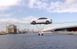 Watch the Jaguar XF's Record-Breaking High-Wire Car Stunt