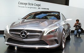 Mercedes S Class Coupe concept rides into Frankfurt Motor Show