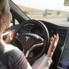 Tesla's autopilot lets cars drive, change lanes themselves