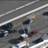 3 injured in car crash at LAX terminal