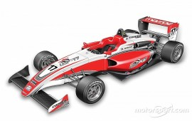 USF2000 reveals design of new car