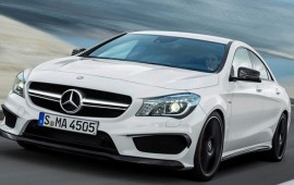 Car show of new york 2013: �HOT�  Mercedes-Benz CLA  Was Noticed in a Game