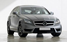 Mercedes plans to present its new CLS63 of 2015