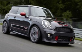 Fresh news from Detroit - the Mini John Cooper Works concept is shown there
