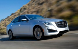Here is the new Cadillac CTS Vsport