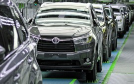 The Toyota's profit grows due to demand for SUVs in the U.S.