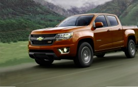 General Motors has confirmed powertrains for its Colorado and Canyon pickups