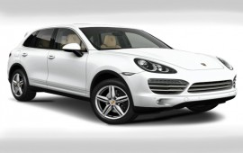 Porsche Cayenne in Platinum Edition