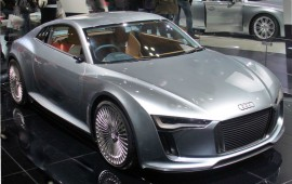 Audi is working on development of an e-tron electric supercar