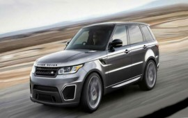 The Range Rover Sport R-S comes as a model of 2015