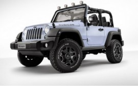 Jeep Debuts Diesel-Powered Wrangler Rocks Star