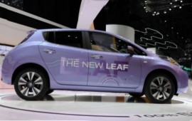 This year we will meet the new Nissan Leaf SL