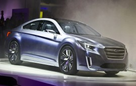 New Subaru Legacy in Chicago this year