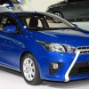 The updated Toyota Yaris will appear as a model of 2015
