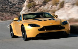 A new roadster of Aston Martin is introduced