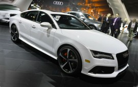 The newest Audi RS 7