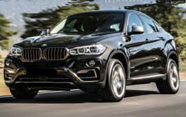 New BMW X6 is updated with the M Performance