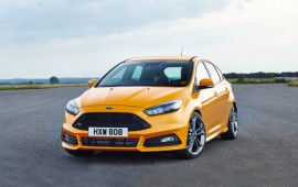 Ford introduces its new Focus ST and Focus ST diesel at Goodwood