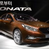 Hyundai Sonata at the New York show