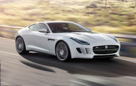 Jaguar F-Type coupe of 2015 model year