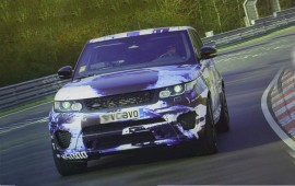 The new Range Rover Sport SVR