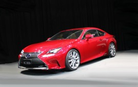 New Lexus RC is available with some new body colors