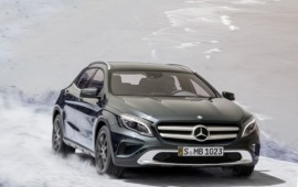 The 2015 Mercedes GLA comes with 208 horsepower and the 4Matic all-wheel-drive system