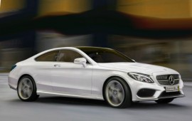 Mercedes C-class coupe for the 2016 model year