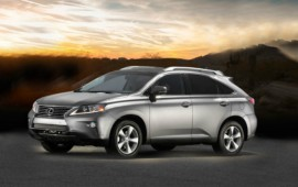 Lexus RX of the next year will be presented in New York