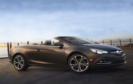 The 2016 Buick Cascada presented in Detroit