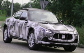 New Maserati Levante of 2016 model year comes soon