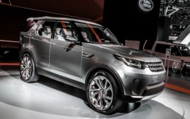 The Land Rover Discovery Sport of a 2016 model year is introduced with the third row of seats