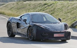 McLaren is working on the new Sports series that is expecting as 2016 model year