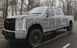 2017 Ford F-series Super Duty Spied: Touched By the Aluminati