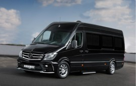 Mercedes presents the Brabus tuned lounge concept