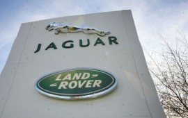 Jaguar Land Rover got the record sales in 2014