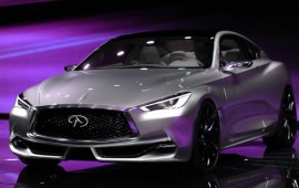 Official information of the latest Infiniti Q60 Concept at the Detroit show