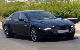 Some new details of 2015 Aston Martin Lagonda are revealed