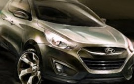 New teaser of newest Hyundai Tucson