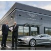 Aston Martin presents a new prototype and the car development center