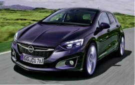 First photos of this year of the newest Opel Astra