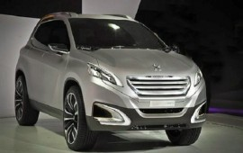 Peugeot shows a new crossover concept