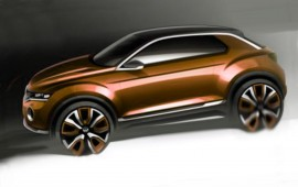 Volkswagen plans to show its T-Roc concept