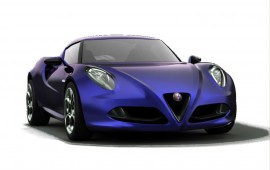 Arrival of the Alfa Romeo 4C on the US