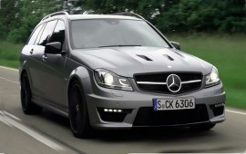 Mercedes is preparing to produce its new C63 AMG Wagon