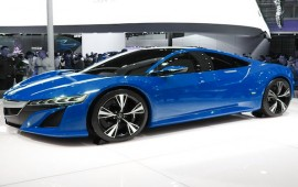 Some shots of the newest Acura NSX