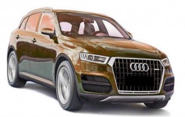 Audi is working on a new diesel electric plug-in hybrid version of the Q7