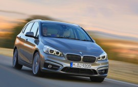 BMW will present the 2014 Active Tourer