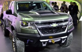 The Chevrolet Colorado ZR2 concept comes with a diesel version